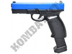 HGC189 Metal CO2 Blowback Airsoft Gun Black and Blue